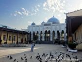 2019Amazing!穿越古絲路上的中亞五國之旅(8-3)--塔吉克斯坦之謝赫‧穆斯里希丁陵墓:12●20世紀初建造的大清真寺,內附有禱告室.JPG