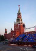 2018印象翻轉的俄羅斯奇幻之旅(3-7)--宛如嘉年華會的莫斯科國際軍樂節 Moscow inte:04●可以較近距離欣賞救世主塔樓的外觀.JPG