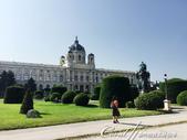 2018不思議之克、斯、義秘境歐遊記(10)--飛回台灣前的維也納印象之旅:02●興建於1872年到1891年間的藝術史博物館,有著華麗的八角形穹頂,與向左右延伸的宮殿,是世界上收藏最豐富的藝術