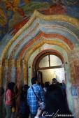 2018印象翻轉的俄羅斯奇幻之旅(5-1)--救世主變容大教堂在當地是保留16世紀宗教繪畫的寶庫:●色彩斑瀾的入口處.JPG