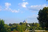 2018印象翻轉的俄羅斯奇幻之旅(6-2)--宛如置身遊樂園的謝爾蓋聖三一修道院:02●啟程之際,再次經過克里姆林宮,即使只露出屋頂,但是那印象卻非常深刻,讓我牢牢記住蘇茲達爾這個可愛的小城