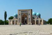 2019Amazing!穿越古絲路上的中亞五國之旅(15-1)--烏茲別克斯坦之哈斯特伊瑪目廣場:11●建於十六世紀的巴拉赫汗經學院 Barakhan Madrasah.JPG