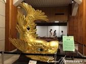 初夏14日自由行--春風吹又生的名古屋城:●天守閣地下一樓入口處展示的金模型,僅可在此拍照留影,不可觸碰.JPG