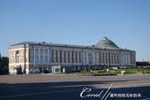 2018印象翻轉的俄羅斯奇幻之旅(2-5)--陰與陽、柔與剛交錯下的莫斯科之心「克里姆林宮」:15●現在克里姆林宮元老院則是俄羅斯總統普丁的辦公地點,戒備森嚴並且不對公眾開放.JPG