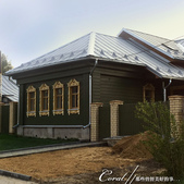 2018印象翻轉的俄羅斯奇幻之旅(5-6)--品嚐在地風味餐與漫步蘇茲達爾夕陽下:08●環境無公害、無污染,並且明令不得興建三樓以上建築的蘇茲達爾,居民大多依舊是住在傳統木造房舍裡,一路上見