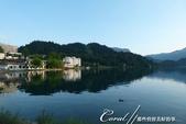 2018不思議之克、斯、義秘境歐遊記(6~4)--閃耀綠寶石光芒的布雷得湖 Lake Bled 與高:50●自彷彿身在雲端般飄然的城堡之旅返回地面,晚餐後,又再次繞行了一小段湖畔風光.JPG