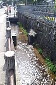 高山老街─「上三之町」古街巡禮:老街外圍,又是一條清澈見底的溝渠.jpg