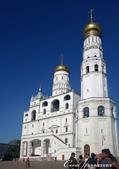 2018印象翻轉的俄羅斯奇幻之旅(2-5)--陰與陽、柔與剛交錯下的莫斯科之心「克里姆林宮」:24●伊凡大帝鐘樓是克里姆林宮內最高的塔楼,也是伊凡大帝時期最高的建筑,當時的作用是信號台和瞭望台,也同時是
