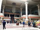 2019Amazing!穿越古絲路上的中亞五國之旅(7-4)--塔吉克斯坦之摩登市集:03●有挑高大廳、有電梯、有水晶燈、有雕刻廊柱,勘稱貴婦級的星期一市集.JPG