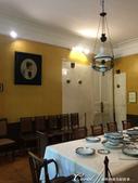 2018印象翻轉的俄羅斯奇幻之旅(3-2)--一窺托爾斯泰故居紀念館之不凡人物的平凡日常:11●餐廳的一面牆上掛著女主人蘇菲亞的畫像.JPG