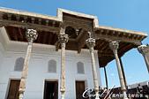 2019Amazing!穿越古絲路上的中亞五國之旅(13-4)--烏茲別克斯坦之布哈拉亞克要塞:12●從入口坡道可以前往建於18世紀的朱馬(星期五)清真寺 Djami Mosque,這是一座用於星期五祈禱的清真寺.JPG