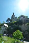 2018不思議之克、斯、義秘境歐遊記(9)--霍恩斯特維茨城堡 Burg Hochosterwitz:26●仰望城堡就在不遠處,不禁為這趟徒步之行喝采.JPG