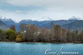 2019Amazing!穿越古絲路上的中亞五國之旅(5-2)--吉爾吉斯斯坦之伊塞克湖:07●峰頂積著白雪的天山,橫臥於伊塞克湖畔的美景讓人終生難忘.JPG