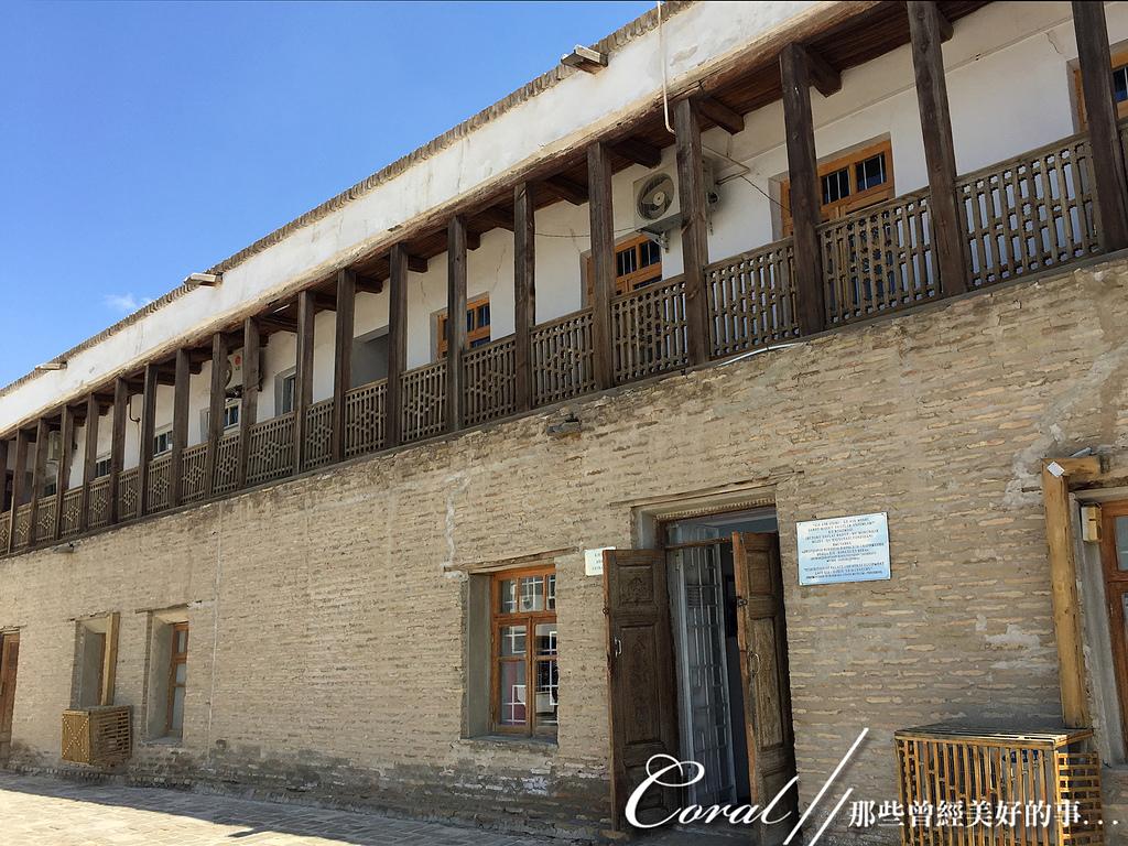 2019Amazing!穿越古絲路上的中亞五國之旅(13-4)--烏茲別克斯坦之布哈拉亞克要塞:18●皇室成員的起居空間與利用這些房間做展出的博物館.JPG