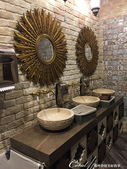 2018印象翻轉的俄羅斯奇幻之旅(3-6)--絕妙的食刻開場!品味烏茲別克異域風味餐:07●連洗手間也這麼有特色,原來,探索餐廳的風情也可以成為一個景點造訪的主題.JPG