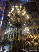 2018印象翻轉的俄羅斯奇幻之旅(5-5)--曾為蘇茲達爾靈魂之地的克里姆林宮:18●璀璨華美的吊燈與金碧輝煌的壁面與聖像畫 (2).JPG