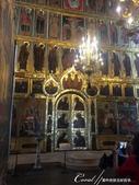 2018印象翻轉的俄羅斯奇幻之旅(5-5)--曾為蘇茲達爾靈魂之地的克里姆林宮:19●璀璨華美的吊燈與金碧輝煌的壁面與聖像畫 (1).JPG