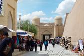 2019Amazing!穿越古絲路上的中亞五國之旅(9-3)--烏茲別克斯坦之希瓦內城:01●在古代希瓦,城市被分為兩部分:Ichan Kala 內城(或城堡),和 Dishan Kala外圍的城市.JPG
