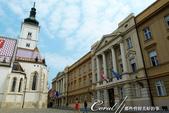 2018不思議之克、斯、義秘境歐遊記(2~1)--克羅埃西亞首都札格雷布Zagreb:33●聖馬可廣場上的政府國會大廈.JPG