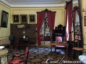 2018印象翻轉的俄羅斯奇幻之旅(3-2)--一窺托爾斯泰故居紀念館之不凡人物的平凡日常:46●雖說充滿貴氣與女人味,左邊牆上的壁毯,卻仍是蘇菲亞本人親織的作品.JPG