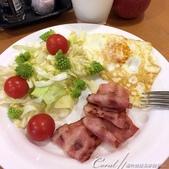 紅葉飄飄15日東京自由行|Day 14--向淺草說再見的早餐:01●在晨間劇的陪伴下,靜靜的享用在淺草最後一道為自己做的早餐,接著就要整裝轉備啟程了.JPG
