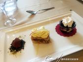 2018不思議之克、斯、義秘境歐遊記(5~1)--蒼翠山丘上的莫托溫山城 Motovun:45●精製的餐後小甜點.JPG