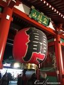 紅葉飄飄15日東京自由行|Day 14--向淺草說再見的早餐:04●觀光客必訪的地標,在夜晚依舊閃耀著它具有代表性的光芒.JPG