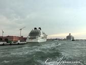 2018不思議之克、斯、義秘境歐遊記(7~1)--人生二度再訪威尼斯Venice:46●回程的路上,天陰的厲害,甚至下起雨來,回憶起第一次來到威尼斯也是如此....JPG