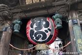 紅葉飄飄15日東京自由行--成田山新勝寺:24●另外有一個碩大的紅燈籠,據說高2.8公尺、直徑2.4公尺,重達800公斤.JPG