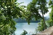 2018不思議之克、斯、義秘境歐遊記(6~4)--閃耀綠寶石光芒的布雷得湖 Lake Bled 與高:25●雖然布雷得湖心小島的高度不過40公尺,但沿著小徑步行往下,一樣拍到很多唯美的畫面,隨便快門一按就是一張明