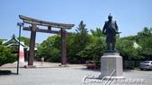 2017初夏14日自由行:●這個秀吉公銅像極有可能像極豐臣秀吉本尊.JPG