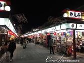 紅葉飄飄15日東京自由行|Day 14--向淺草說再見的早餐:06●觀光客必訪的地標,在夜晚依舊閃耀著它具有代表性的光芒.JPG
