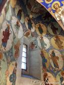 2018印象翻轉的俄羅斯奇幻之旅(5-1)--救世主變容大教堂在當地是保留16世紀宗教繪畫的寶庫:●出於百年前名師之作的壁畫.JPG