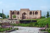 2019Amazing!穿越古絲路上的中亞五國之旅(7-2)--塔吉克斯坦之歷史文化遺產希薩碉堡:02●新的經學院緊閉門扉,遊人止步.JPG