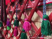 2019Amazing!穿越古絲路上的中亞五國之旅(5-3)--吉爾吉斯斯坦之蒙古包風味餐:03●呈交叉狀的哈那是個有趣的結構.JPG