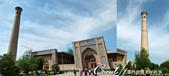 2019Amazing!穿越古絲路上的中亞五國之旅(15-1)--烏茲別克斯坦之哈斯特伊瑪目廣場:06●哈斯特伊瑪目清真寺Khast Imam mosque的入口與喚拜塔.png