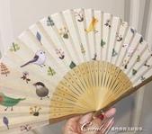 紅葉飄飄15日東京自由行|Day 14--向淺草說再見的早餐:10●對於不喜燠熱的我來說,扇子一直是盛夏的好伙伴,這把布面扇子上有我喜歡的自然元素,僅管少了東洋風,但一眼