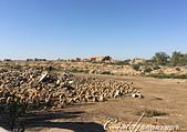 2019Amazing!穿越古絲路上的中亞五國之旅(12-1)--土庫曼斯坦之傳說中的默伏古城:17●在一片破碎的磚瓦和土堆前,如果想像力沒有因此被激發,那麼這不過就是一幅令人沮喪的景物,儘管這對史學家來