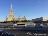 2018印象翻轉的俄羅斯奇幻之旅(2-6)--俄式牧場創意料理的新風味:06●與俄羅斯政府大樓隔河相望的,是建於蘇聯時期的烏克蘭酒店,原為前蘇聯的外交部迎賓館,現今是莫斯科的四星級