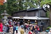 紅葉飄飄15日東京自由行--高尾山:35●四大天王門前的木造茶屋.JPG