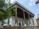 2019Amazing!穿越古絲路上的中亞五國之旅(14-2)--烏茲別克斯坦之三座重要的陵墓:09●建於1880年至1882年間的清真寺也延續了一樣的樸實外觀.JPG