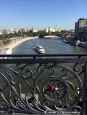 2018印象翻轉的俄羅斯奇幻之旅(2-3)--莫斯科河畔之美哉!基督救世主大教堂:12●橋上還有歐洲人最愛的情人鎖....JPG
