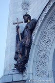 2018印象翻轉的俄羅斯奇幻之旅(2-3)--莫斯科河畔之美哉!基督救世主大教堂:03●從重建後的教堂可想見,過去需歷時17年打造的巨型浮雕,有多麼的令人震憾.JPG