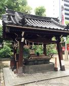 2017初夏14日自由行:●神社裡一定少不了的手水舍.JPG