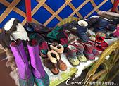 2019夏季內蒙草原風光與貝加爾湖詩意之約(10-1)--結伴到呼倫貝爾草原(上):15●漂亮的紋飾與講究功能性的各種靴子,也是具代表性的蒙古衣飾之一.JPG