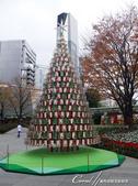紅葉飄飄15日東京自由行--品味黑毛牛的奢華食光:05●尚未點燈,顯得寂寥的耶誕樹.JPG