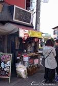 紅葉飄飄15日東京自由行--笑嘆「男人真命苦」之柴又帝釋天老街巡禮:12●自昭和時代飄香至今的食事甘味處,以肉類為主的串燒,吸引不少聞香而來的食客排隊等候.jpg