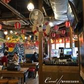 紅葉飄飄15日東京自由行--以滋味美妙的金槍魚三色丼結束快樂的行程:11●所有分店一致的熱鬧裝璜.JPG