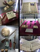2019Amazing!穿越古絲路上的中亞五國之旅(13-4)--烏茲別克斯坦之布哈拉亞克要塞:22●各種珍貴的經文與古代書藉與娛樂、樂器.png