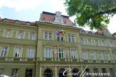 2018不思議之克、斯、義秘境歐遊記(1)--斯洛維尼亞古城巡禮:36●現今的馬利博郵政總局在中古世紀曾是為平民建設的醫院,可見當時的社會福利是相當好的,一般民眾也可得到完善